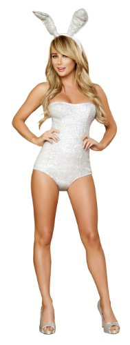 Roma Costume 2 Piece Hop-About Hottie As Shown, Silver, Small