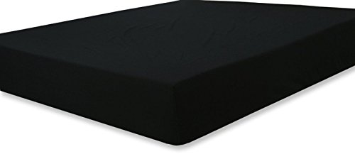 Fitted Sheet (Queen - Black) - Deep Pocket Brushed Velvety Microfiber, Breathable, Extra Soft and Comfortable - Wrinkle, Fade, Stain and Abrasion Resistant - by Utopia Bedding (Black Bed Sheets compare prices)