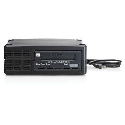 HP StorageWorks DAT 160 USB Internal Tape Drive – Tape drive – DAT ( 80 GB / 160 GB ) – DAT-160 – Hi-Speed USB – internal – 5.25″