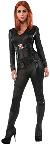 Secret Wishes Women's Marvel Universe Captain America Soldier Deluxe Black Widow