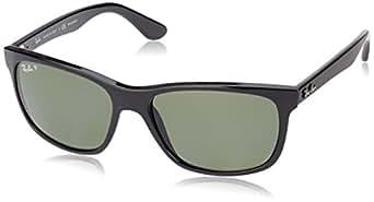 Ray-Ban Men's 0rb4181 601/9A57 Polarized Sunglasses,Black,57 mm