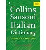 Vladimiro Macchi Collins-Sansoni Italian Dictionary (The Sansoni dictionaries)