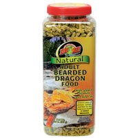 Zoo Med Natural Bearded Dragon Food, Adult Formula, 20 oz