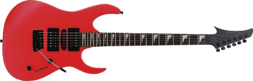 Spectrum AIL 95RD Custom Pro Series Shark Style Electric Guitar Pack, Red - 1