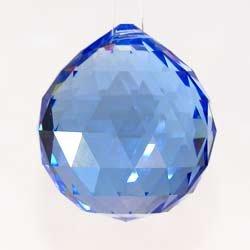 40mm Blue Crystal Ball Prisms