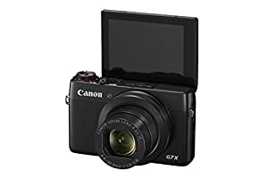 Canon PowerShot G7 X 20.2 MP CMOS Digital Camera with 4.2x optical Zoom (24mm-100mm), Built-in WiFi and NFC, 3 Inch Touchscreen, 1080P Video (Black) (Certified Refurbished)