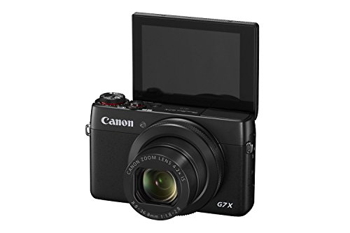 Canon PowerShot G7 X 20.2 MP CMOS Digital Camera with 4.2x optical Zoom (24mm-100mm), Built-in WiFi and NFC, 3 Inch Touchscreen, 1080P Video (Black) (Certified Refurbished) (Canon Sx 270 compare prices)