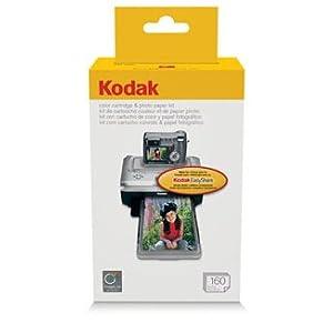 Kodak Color Cartridge Amp Photo Paper Kit Ph 160 160 Count Amazonca Electronics