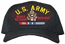 NEW U.S. Army Korean War Veteran Cap w/ Ribbons