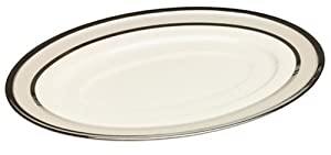 Lenox Ivory Frost Platinum Banded Sauce Boat Stand