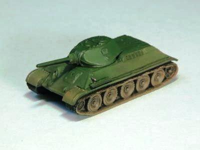 ソビエト軍 T34 中戦車 76 1941年型 単色迷彩(グリーン系)