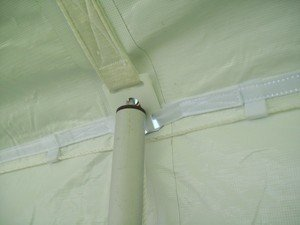 Inflatable Canopy Tent front-569361