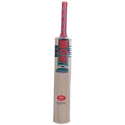 BDM Tennis Kashmir Popular Cricket Bat, Short Handle