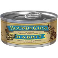 HOUND & GATOS PET FOOD Rabbit Formula Canned Cat Food, 5.5 oz., 24-Pack