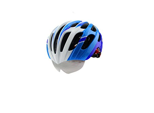 Mountain bike helmet bicycle helmet integrally molded couple glasses lightweight helmet with goggles biking equipment