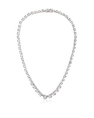 CZ by Kenneth Jay Lane Graduated Cushions Best Selling Necklace