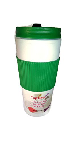 Insulated Travel Cups With Flip Lids Cuptime Coffee Mugs Tumbler Double Wall