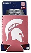 Michigan State Spartans Pink Can Kaddy Koozie Cooler