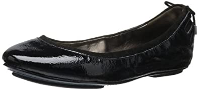 Maria Sharapova Collection by Cole Haan Women's Air Bacara  Flat,Black Patent,5 M