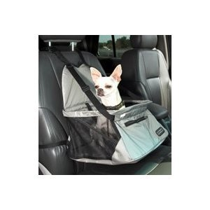 Outward Hound Smoothride Lookout Car Booster Seat for Dogs