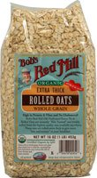 Organic Extra Thick Rolled Oats, 16 oz (453 g)
