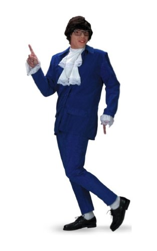 Austin Powers Costume - Adult Costume deluxe
