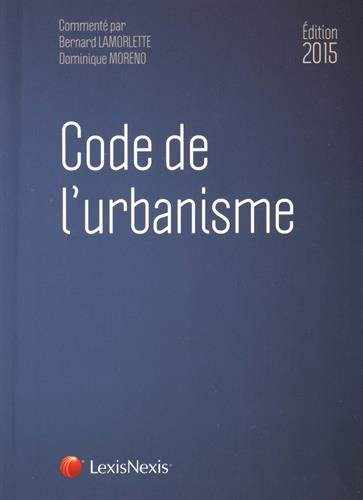 Code de l'urbanisme, 2015