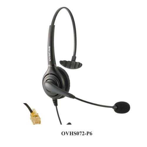 Monaural Call Center Headset For Cisco Unified Ip Phones