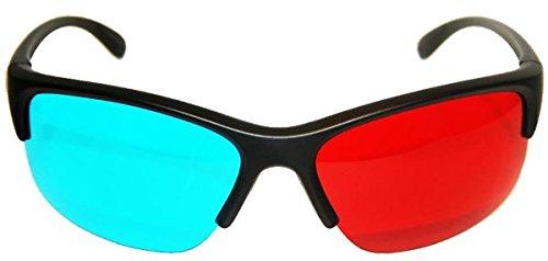 3D Plastic Glasses, Anaglyphic (red/cyan) GEN X 3D
