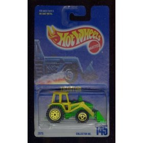 Hot Wheels 1991 #145 TRACTOR Green & Yellow 1:64 Scale - 1