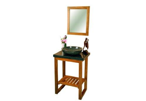 DIVERO-Badmbel-Waschtisch-aus-Teak-mit-Aufsatz-Handwaschbecken-und-Spiegel