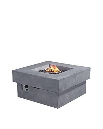 Zuo Modern Diablo Outdoor Propane Fire Pit, Gray