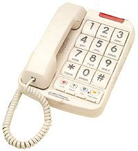 NW BELL 20200-1 Big-Button Phone Plus with 13-Number Memory
