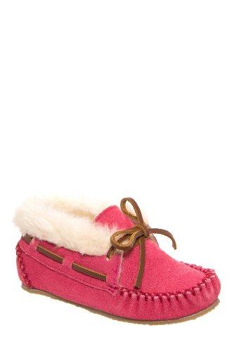 Minnetonka Kids' Charley Bootie Moccasin Flat Shoe