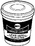 Harvey 045105 1 Quart Non-Asbestos Furnace Cement