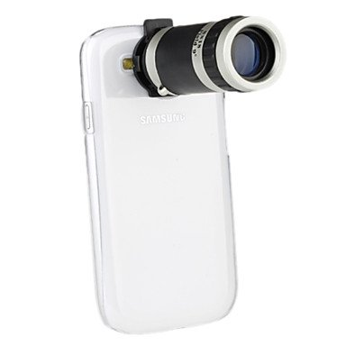 Xs Telescope 8X Zoom Camera Lens With Case For Samsung Galaxy S3 I9300