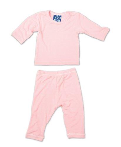 Kicky Pants Long Sleeved Pajama Set, Lotus, 6-12 Months front-177452