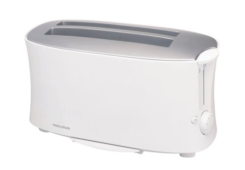 Morphy Richards Essentials 44170 4 Slice Toaster, White from Morphy Richards