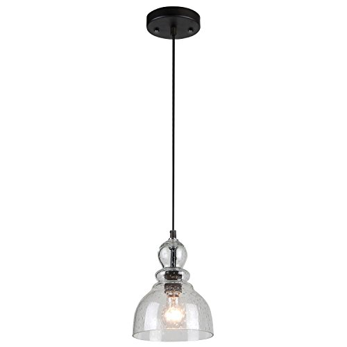 westinghouse-6100800-industrial-one-light-adjustable-mini-pendant-with-handblown-clear-seeded-glass-