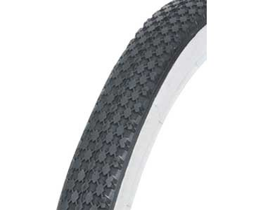 Bike | Bicycle Tire 16″ x 2.125″ Black/White