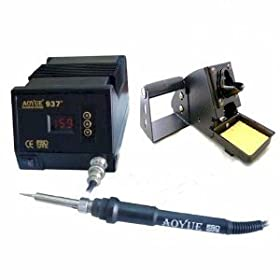 Aoyue 937+ Digital Soldering Station - ESD Safe includes Spare Element UPDATED VERSION!!
