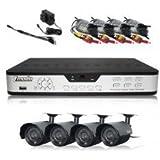 Zmodo PKD-DK0866-500GB  8 Channel H.264 DVR with 500GB + 4 x 420TVL 6mm Outdoor Camera CCTV Security Kit