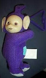 Mcdonalds Teletubbies Tinky Winky Plush - 1
