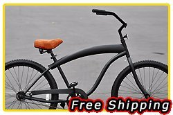 Free Shipping! Fito Modena Sport 1-speed Men - All Matte Black, 26