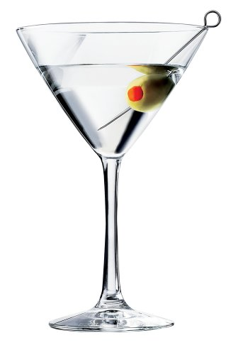 6 Glass Martini Set