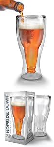 Hopside Down Drink Glass
