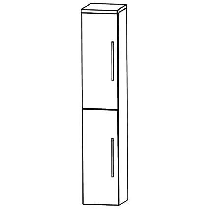 Puris Star Line (HNA033A7L / R Tall Cupboard Bathroom Cupboard 30 CM