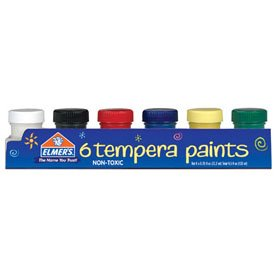6PK.75OZ Tempera Paint