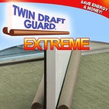 Hampton Direct Twin Draft Guard - Door Draft Guard