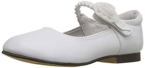 Jumping Jacks Katie Mary Jane (Toddler/Little Kid/Big Kid), White Smooth, 5 M US Toddler (Jack And Jane Shoes compare prices)